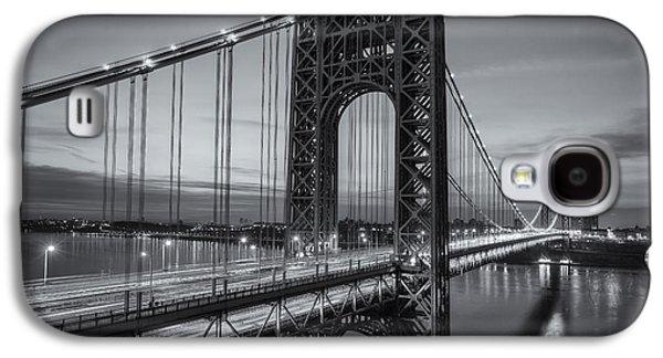 George Washington Bridge Morning Twilight II Galaxy S4 Case