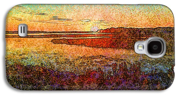 Georgian Bay Sunset Galaxy S4 Case by Claire Bull