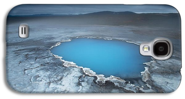 Geothermal Pool Iceland Galaxy S4 Case by Mart Smit