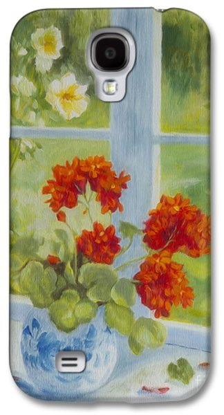 Geranium Morning Light Galaxy S4 Case