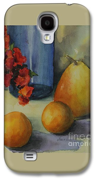 Geraniums With Pear And Oranges Galaxy S4 Case