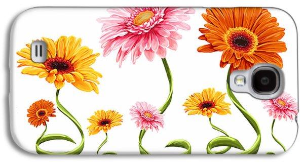 Gerbera Daisy Galaxy S4 Case by Veronica Minozzi