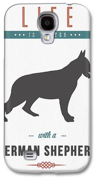 German Shepherd 01 Galaxy S4 Case