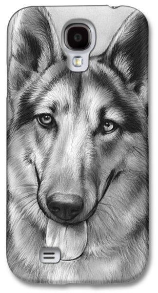 German Shepherd Galaxy S4 Case by Greg Joens