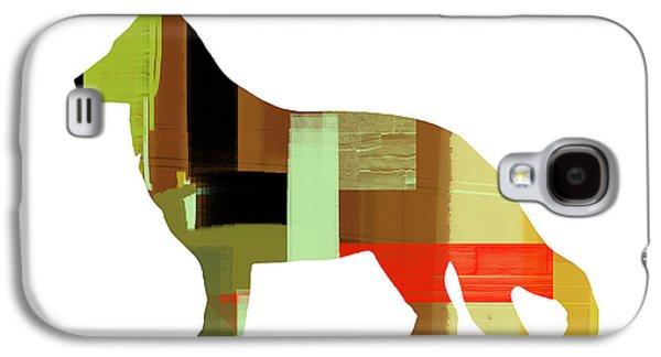 German Sheppard 2 Galaxy S4 Case by Naxart Studio