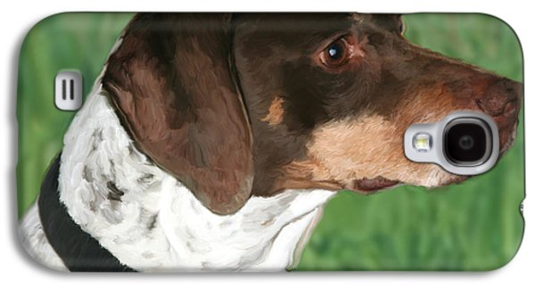 German Shorthaired Pointer Galaxy S4 Case by Paul Tagliamonte