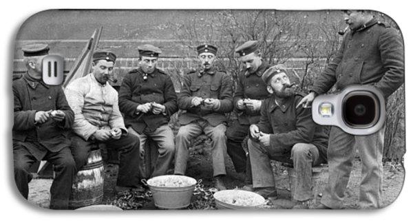 Germans Peeling Potatoes Galaxy S4 Case by Underwood Archives