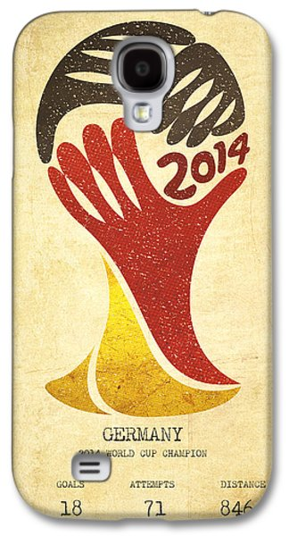 Germany World Cup Champion Galaxy S4 Case by Aged Pixel
