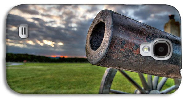 Gettysburg Canon Closeup Galaxy S4 Case by Andres Leon