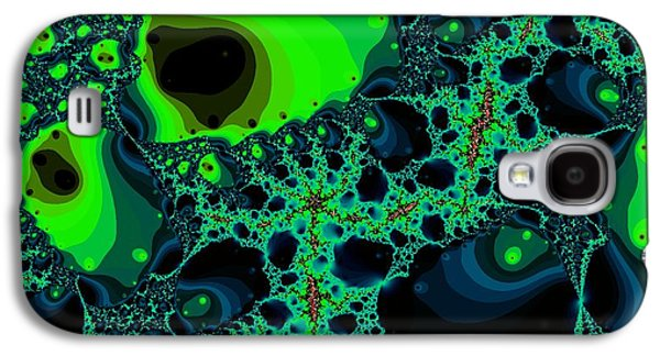 Ghost Mask Galaxy S4 Case by Anastasiya Malakhova