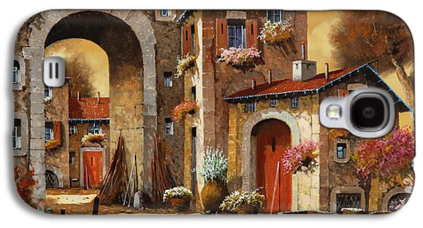 Giallo Galaxy S4 Case by Guido Borelli