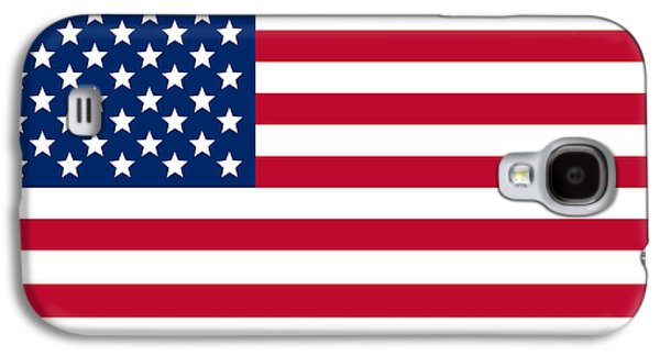 Landmarks Galaxy S4 Case - Giant American Flag by Ron Hedges
