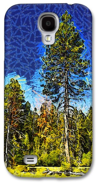 Giant Tree Abstract Galaxy S4 Case by Barbara Snyder