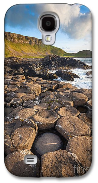 Giant's Causeway Circle Of Stones Galaxy S4 Case by Inge Johnsson