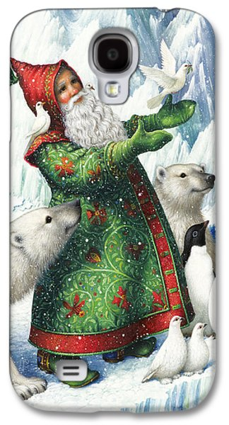 Polar Bear Galaxy S4 Case - Gift Of Peace by Lynn Bywaters