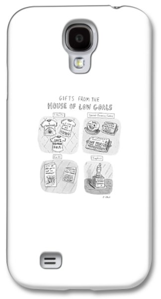 Gifts From The House Of Low Goals Galaxy S4 Case