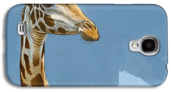 Giraffe Galaxy S4 Case by Aaron Blaise