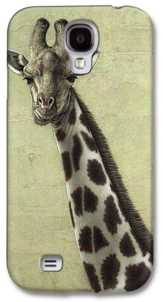 Giraffe Galaxy S4 Case by James W Johnson