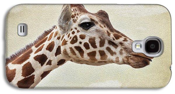 Giraffe Galaxy S4 Case by Svetlana Sewell
