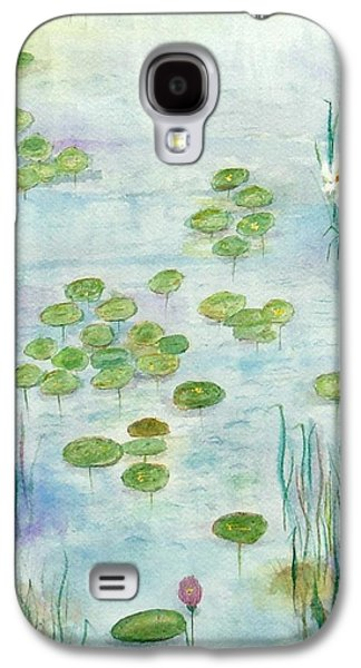 Waterscape Galaxy S4 Case - Giverny Dreaming by Barbie Corbett-Newmin