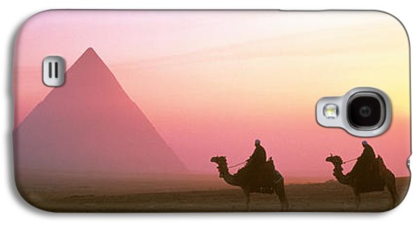 Giza Pyramids Egypt Galaxy S4 Case by Panoramic Images