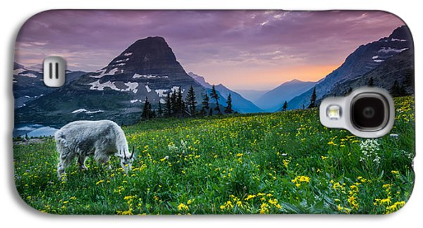 Glacier National Park 4 Galaxy S4 Case by Larry Marshall