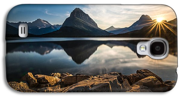 Glacier National Park Galaxy S4 Case by Larry Marshall