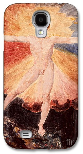Glad Day Or The Dance Of Albion Galaxy S4 Case by William Blake