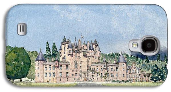 Glamis Castle Tayside  Galaxy S4 Case by David Herbert