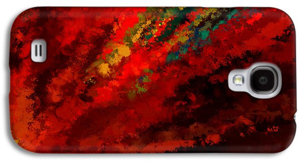 Glance Of Colors Galaxy S4 Case by Lourry Legarde