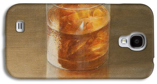 Glass Of Whisky 2010 Galaxy S4 Case by Lincoln Seligman