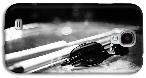 Glasses And Sticks Bw Galaxy S4 Case
