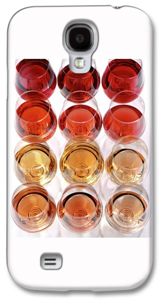 Glasses Of Rose Wine Galaxy S4 Case