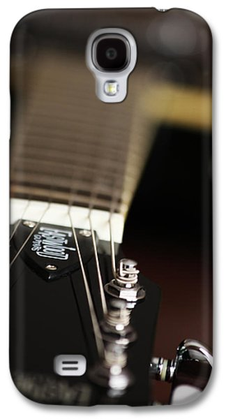 Glimpse Of A Guitar Galaxy S4 Case by Karol Livote