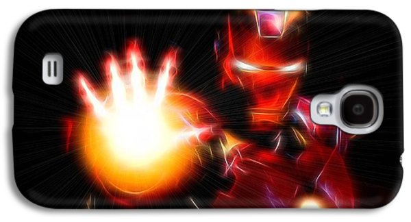 Glowing Iron Man Galaxy S4 Case