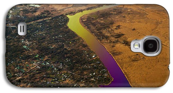 Glowing River. Rainbow Earth Galaxy S4 Case