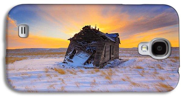 Rural Scenes Galaxy S4 Case - Glowing Winter by Kadek Susanto