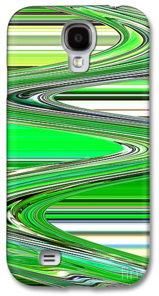 Abstract Digital Photographs Galaxy S4 Cases - Go with the Flow Galaxy S4 Case by Carol Groenen