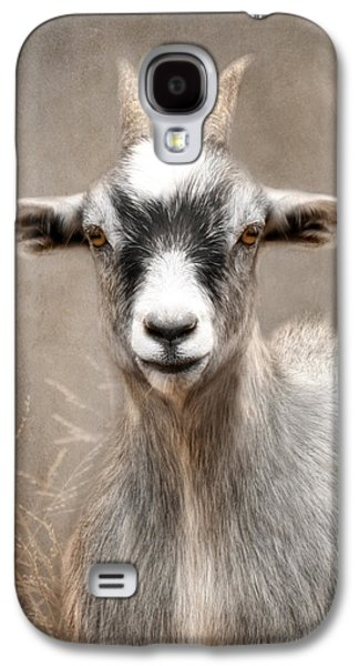 Goat Portrait Galaxy S4 Case by Lori Deiter
