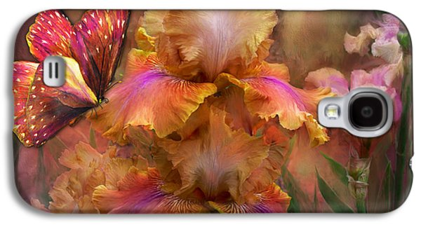 Goddess Of Sunrise Galaxy S4 Case by Carol Cavalaris