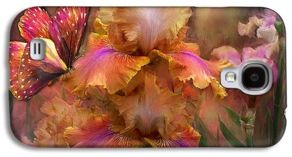 Goddess Of Sunrise Galaxy S4 Case by Carol Cavalaris