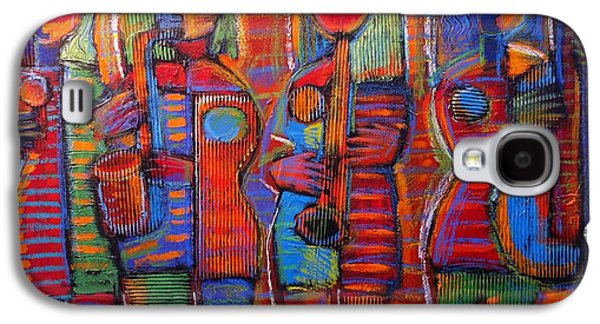 Goddess's Of Music Bring Us Jazz Galaxy S4 Case by Gerry High
