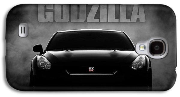 Godzilla Galaxy S4 Case by Douglas Pittman