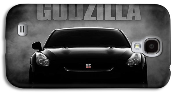 Car Galaxy S4 Case - Godzilla by Douglas Pittman