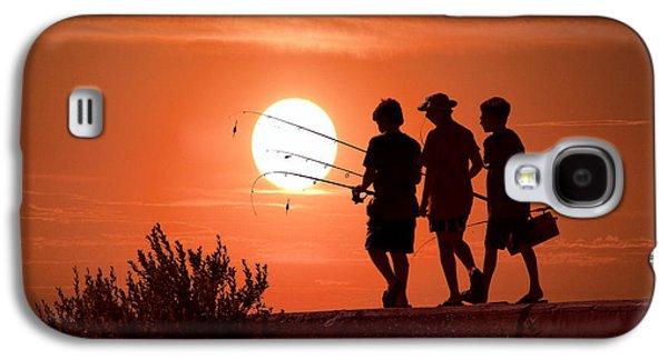 Going Fishing Galaxy S4 Case