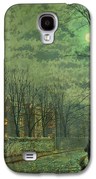 Going Home By Moonlight Galaxy S4 Case by John Atkinson Grimshaw