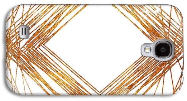 Gold Diamond Galaxy S4 Case by South Social Studio