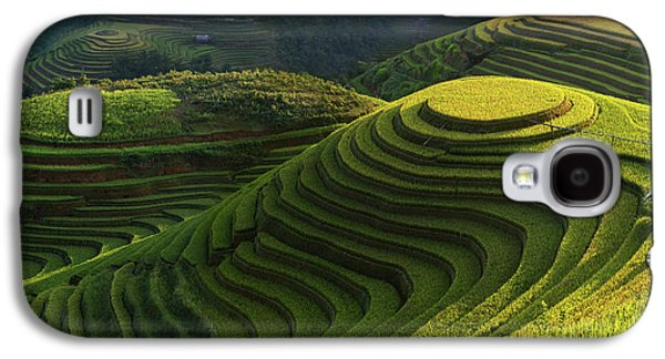 Gold Rice Terrace In Mu Cang Chai,vietnam. Galaxy S4 Case