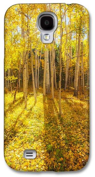 Golden Galaxy S4 Case by Darren  White
