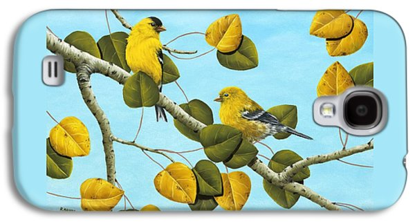 Finch Galaxy S4 Case - Golden Days by Rick Bainbridge